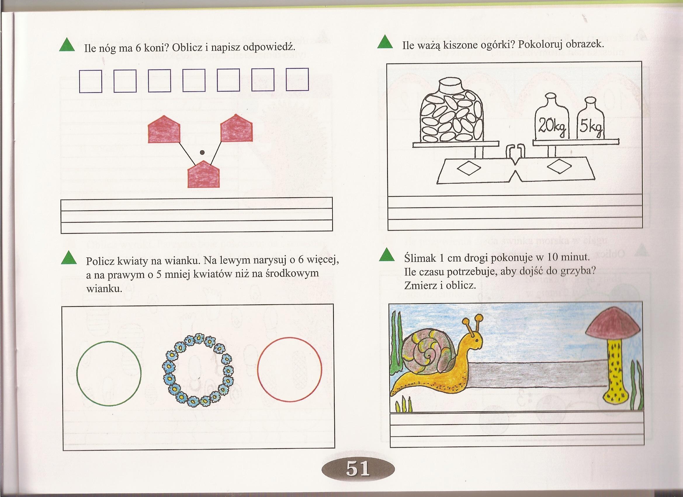 Zadanie 6 Strona 196 Matematyka Cwiczenia Ortograficzne I Matematyczne Dla Mcodszych Dzieci